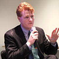 Congressman Joe Kennedy at March Social Issue Talk