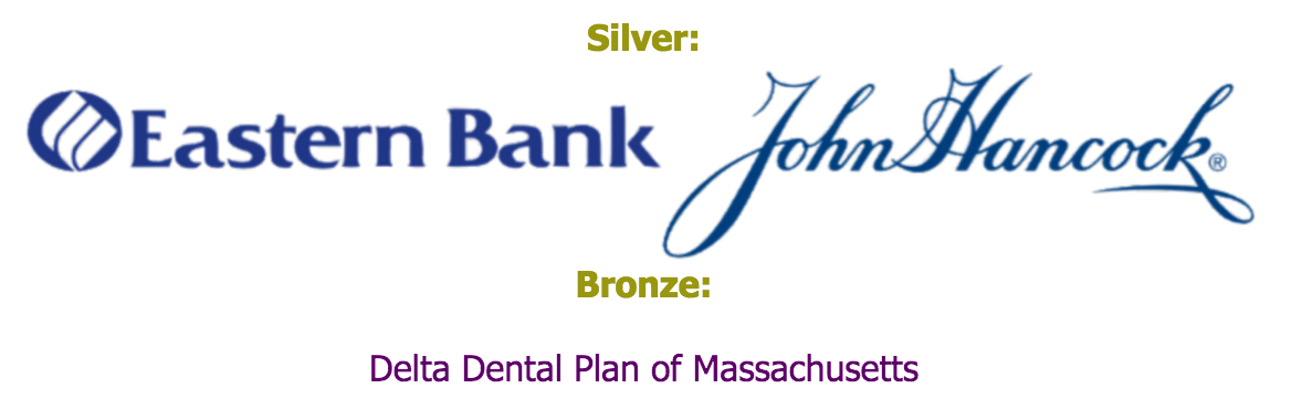 Event sponsors: Eastern Bank, John Hancock, Delta Dental