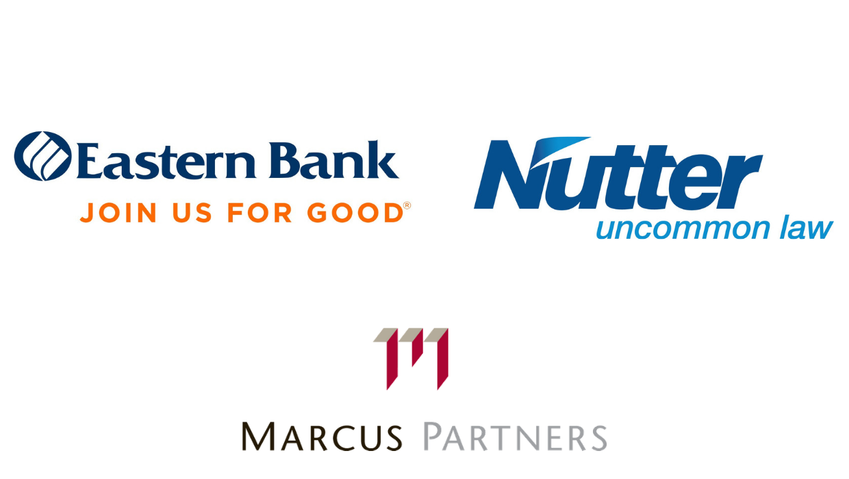 Eastern bank, Marcus Partners, and Nutter logos