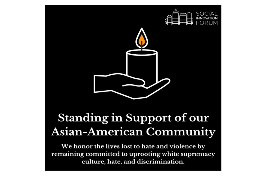 standing in support