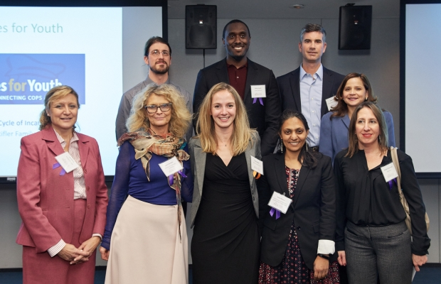 2018 Social Innovators at the SIF Winter Reception on December 8