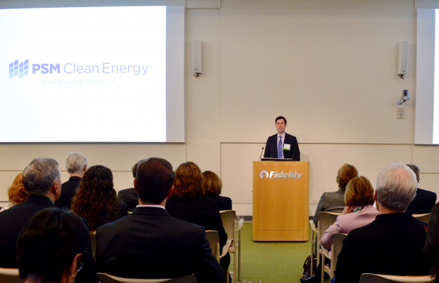 Kevin Krachman of PSM Energy presents at the 2016 Impact Investing Showcase