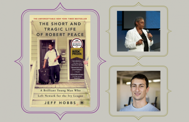 Picture of book cover and special guests: Tina Chery and Jon Feinman