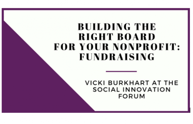 Building the Right Board for Your Nonprofit: Fundraising