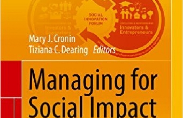 Managing for Social Impact book cover
