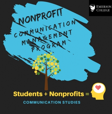 Emerson Nonprofit Communication Management Program Logo