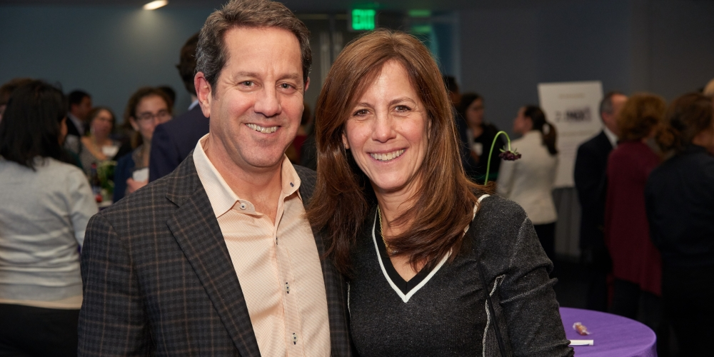 Steve and Ellen Segal at SIF's Winter Reception