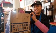 City Feed and Supply employee