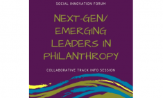 SIF Next-Gen/Emerging Leaders in Philanthropy Info Session