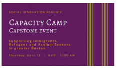Capacity Camp Capstone Event